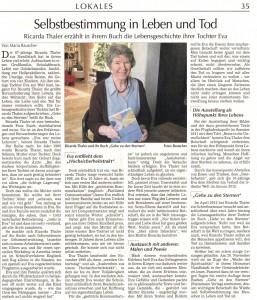 Ricarda Interview von Maria Rauscher I
